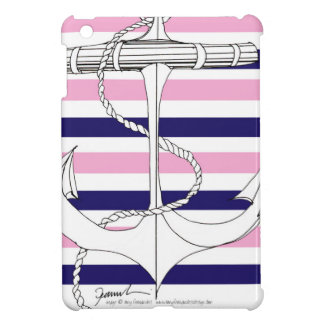 Tony Fernandes 8 mix stripe anchor iPad Mini Case