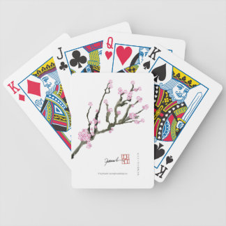 Tony Fernandes cherry blossom 8 Bicycle Playing Cards