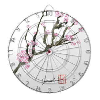 Tony Fernandes cherry blossom 8 Dartboard