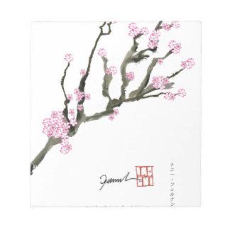 Tony Fernandes cherry blossom 8 Notepad