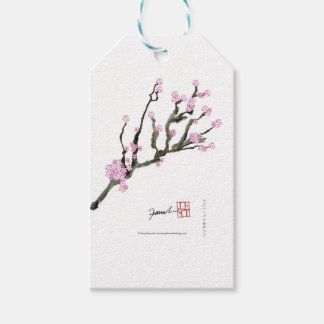 Tony Fernandes cherry blossom 8 Pack Of Gift Tags