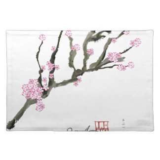 Tony Fernandes cherry blossom 8 Placemat