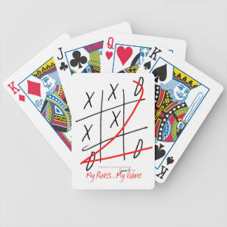 tony fernandes, it's my rule my game (10) bicycle playing cards
