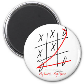 tony fernandes, it's my rule my game (10) magnet