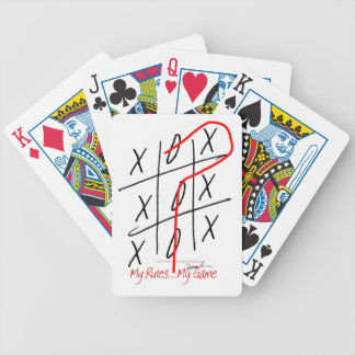 tony fernandes, it's my rule my game 6 bicycle playing cards