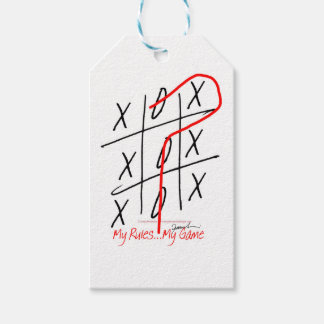 tony fernandes, it's my rule my game 6 pack of gift tags