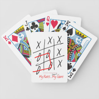 tony fernandes, it's my rule my game (7) bicycle playing cards