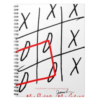 tony fernandes, it's my rule my game (7) notebooks