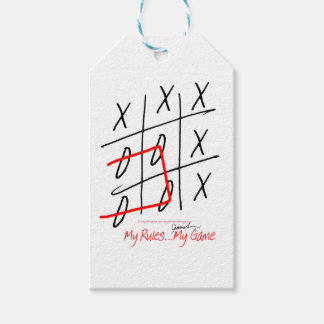 tony fernandes, it's my rule my game (7) pack of gift tags