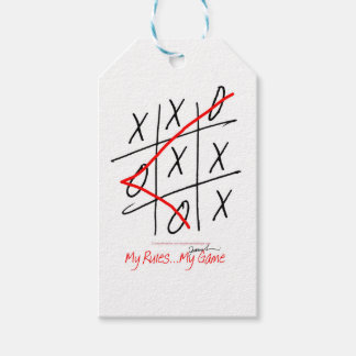 tony fernandes, it's my rule my game (8) pack of gift tags