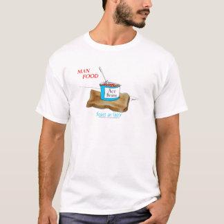 Tony Fernandes's Man Food - beans on toast T-Shirt