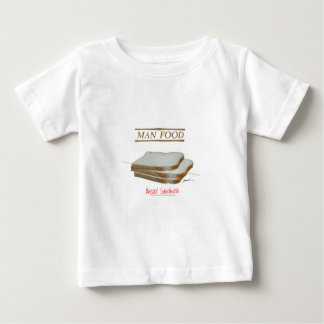Tony Fernandes's Man Food - bread sandwich Baby T-Shirt