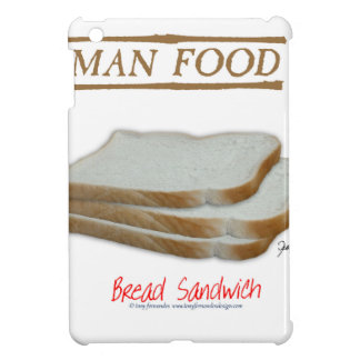 Tony Fernandes's Man Food - bread sandwich Cover For The iPad Mini
