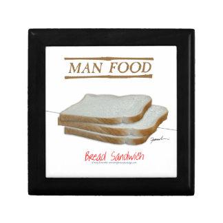 Tony Fernandes's Man Food - bread sandwich Gift Box