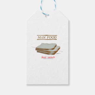 Tony Fernandes's Man Food - bread sandwich Gift Tags