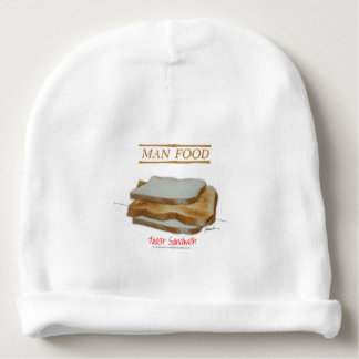 Tony Fernandes's Man Food - toast sandwich Baby Beanie