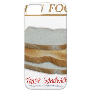 Tony Fernandes's Man Food - toast sandwich iPhone 5 Case
