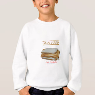 Tony Fernandes's Man Food - toast sandwich Sweatshirt