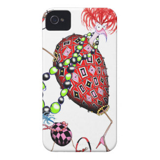 Tony Fernandes's Red Ruby Fab Egg iPhone 4 Case-Mate Cases