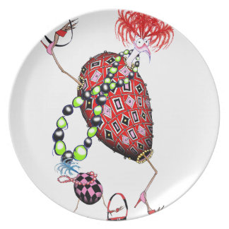 Tony Fernandes's Red Ruby Fab Egg Plate