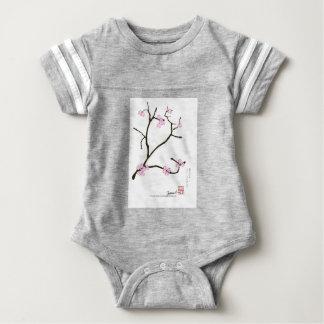 Tony Fernandes Sakura Blossom 1 Baby Bodysuit