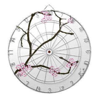 Tony Fernandes Sakura Blossom 1 Dartboard