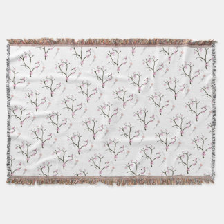 Tony Fernandes Sakura Blossom 1 Throw Blanket