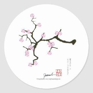 Tony Fernandes Sakura Blossom 2 Classic Round Sticker