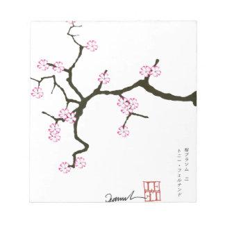 Tony Fernandes Sakura Blossom 2 Notepad