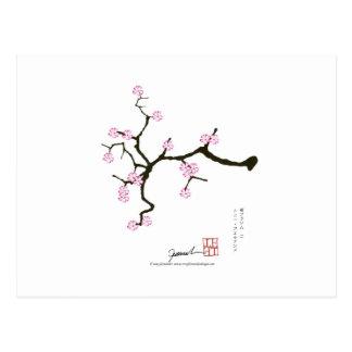 Tony Fernandes Sakura Blossom 2 Postcard