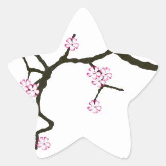 Tony Fernandes Sakura Blossom 2 Star Sticker