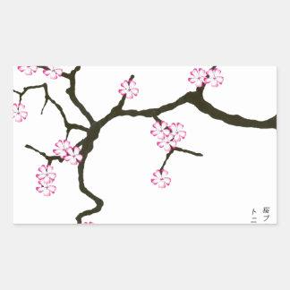 Tony Fernandes Sakura Blossom 2 Sticker