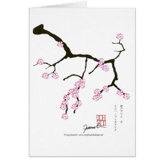 Tony Fernandes Sakura Blossom 3 Card