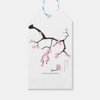 Tony Fernandes Sakura Blossom 3 Gift Tags