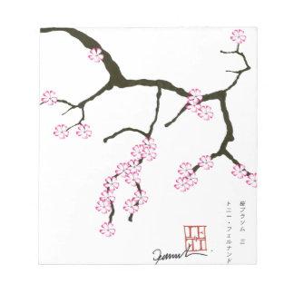Tony Fernandes Sakura Blossom 3 Notepads
