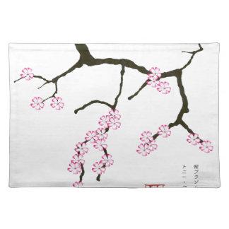 Tony Fernandes Sakura Blossom 3 Placemat