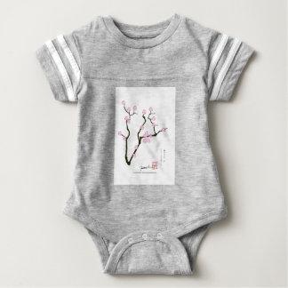Tony Fernandes Sakura Blossom 5 Baby Bodysuit