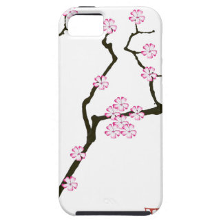Tony Fernandes Sakura Blossom 5 iPhone 5 Cases
