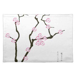 Tony Fernandes Sakura Blossom 5 Placemat
