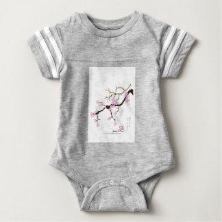 Tony Fernandes Sakura Blossom 6 Baby Bodysuit