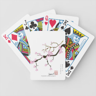 Tony Fernandes Sakura Blossom 6 Bicycle Playing Cards
