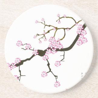 Tony Fernandes Sakura Blossom 6 Coaster