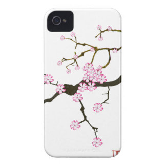 Tony Fernandes Sakura Blossom 6 iPhone 4 Case-Mate Case