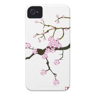 Tony Fernandes Sakura Blossom 6 iPhone 4 Case-Mate Cases
