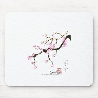Tony Fernandes Sakura Blossom 6 Mouse Pad
