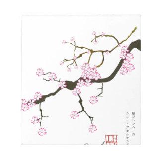 Tony Fernandes Sakura Blossom 6 Notepads