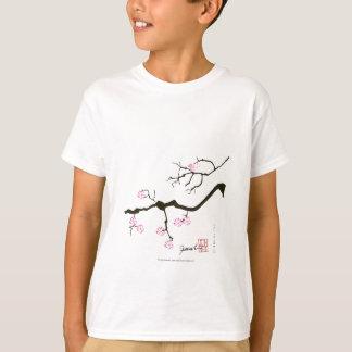 tony fernandes sakura blossom and pink bird T-Shirt
