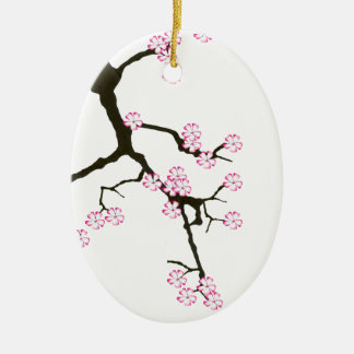 Tony Fernandes sakura lucky 7 Ceramic Ornament