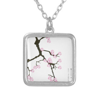 Tony Fernandes sakura lucky 7 Silver Plated Necklace