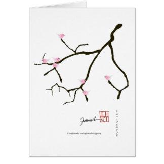 tony fernandes sakura with 7 pink birds 2 card